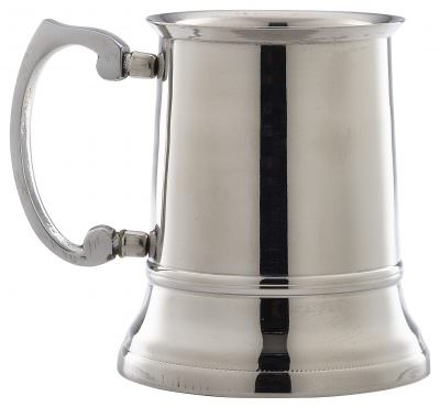 Stainless Steel Beer Tankard 45cl/15.75oz
