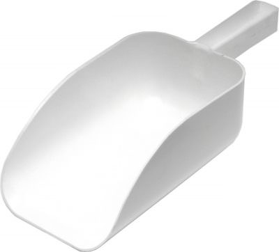 "All Purpose White Scoop 7"", 1L Cap"