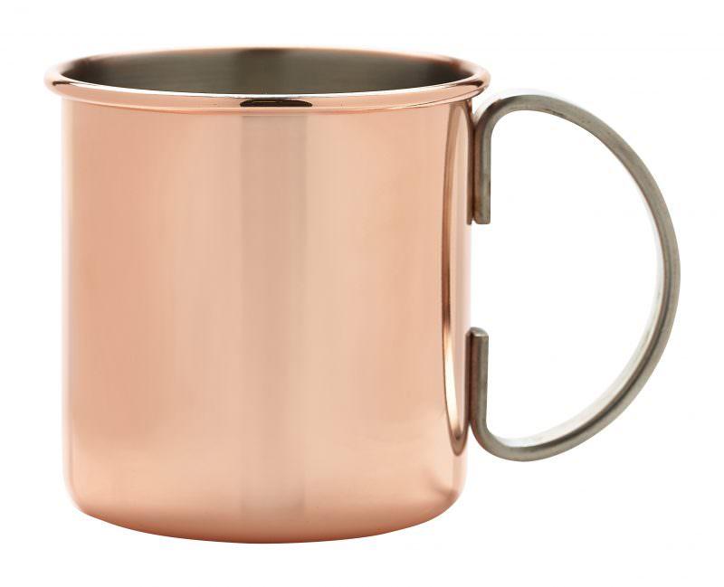 Straight Copper Mug 48cl/16.9oz