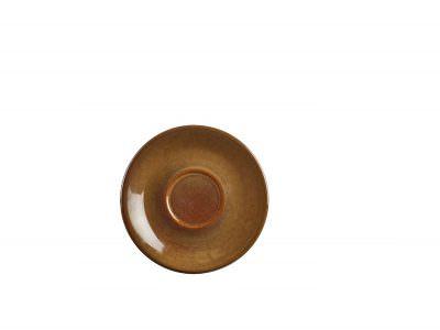 Terra Stoneware Rustic Brown Saucer 15cm