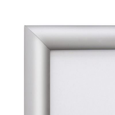 Genware Silver A4 Snap Frame