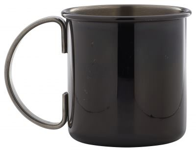 Straight Gun Metal Mug 48cl/16.9oz
