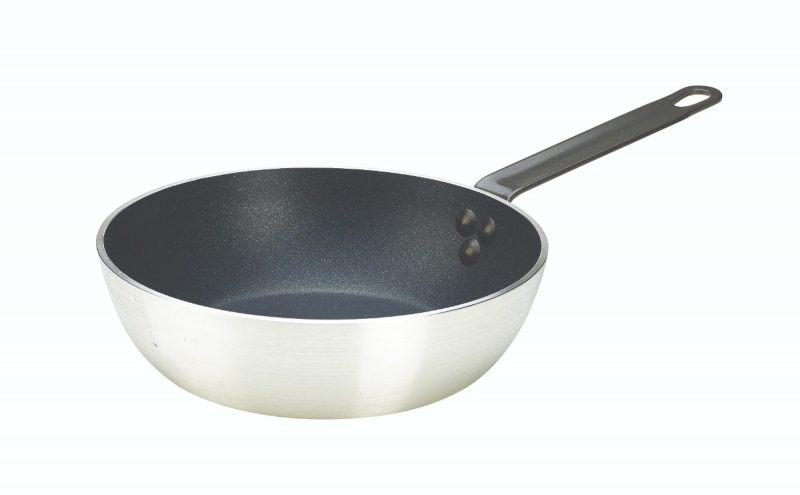 Genware Saute Pan 24cm Teflon Plus
