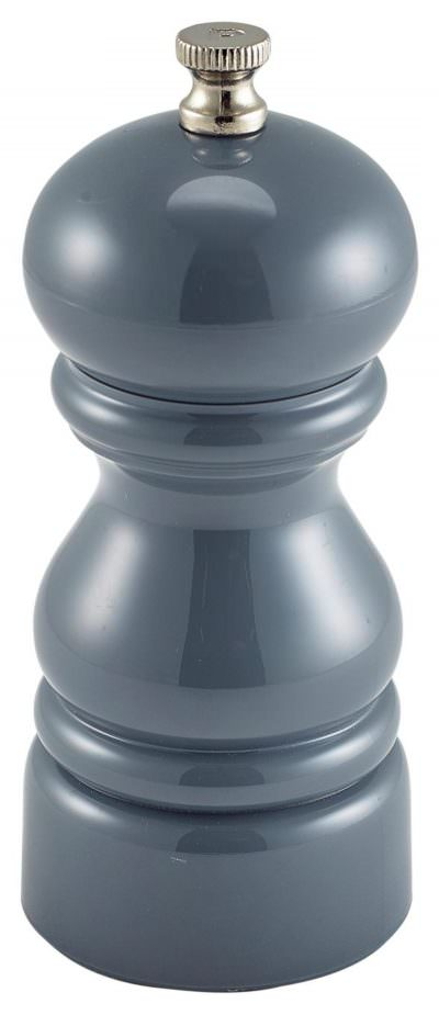 Genware Salt Or Pepper Grinder Grey 12.7cm