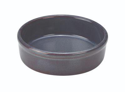 Terra Stoneware Rustic Blue Tapas Dish 13cm