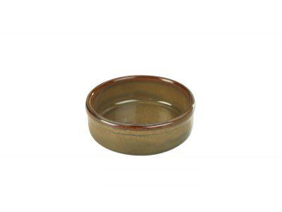 Terra Stoneware Rustic Brown Tapas Dish 10cm