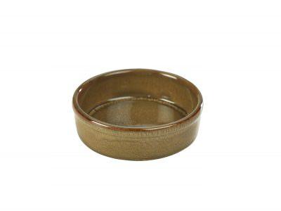 Terra Stoneware Rustic Brown Tapas Dish 13cm