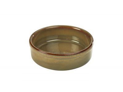 Terra Stoneware Rustic Brown Tapas Dish 14.5cm