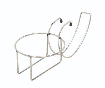 Chrome Plated Table Edge Bucket Holder