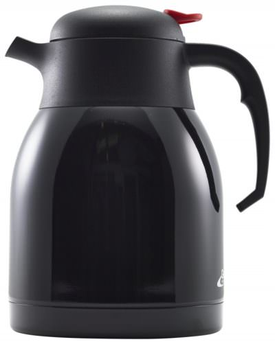 Black St/St Vacuum Push Button Jug 1.5L