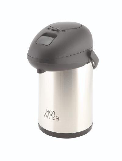 Hot Water Inscribed St/St Vac. Pump Pot 2.5L