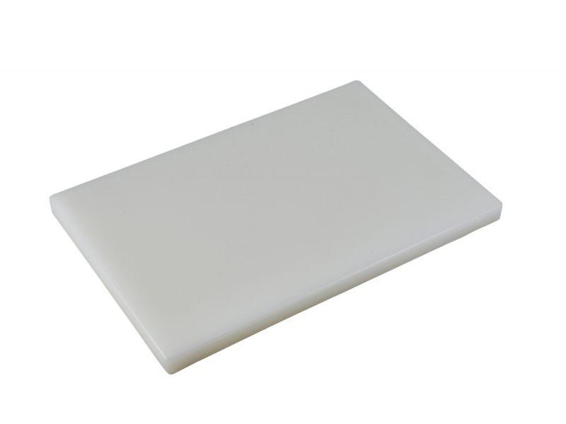 "White 1"" Chopping Board 18 x 12"""