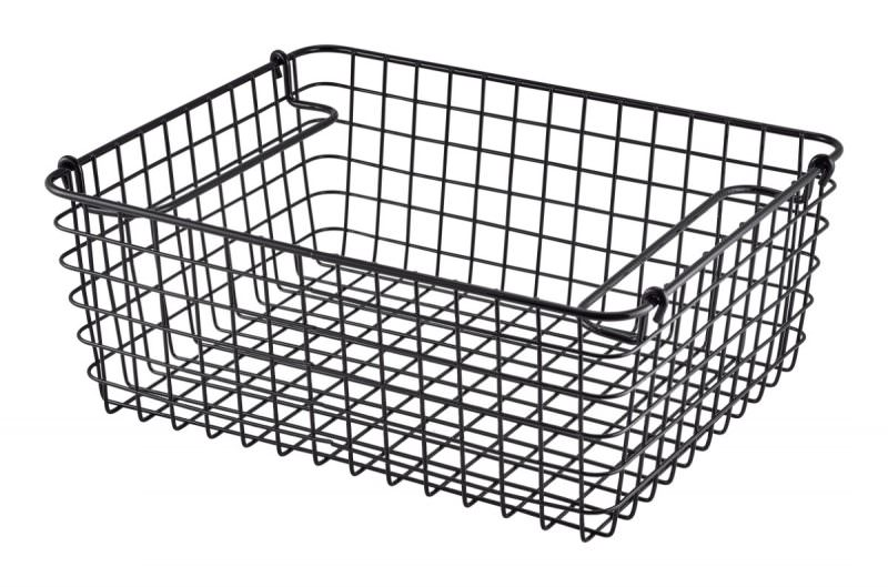 Black Wire Display Basket GN1/2