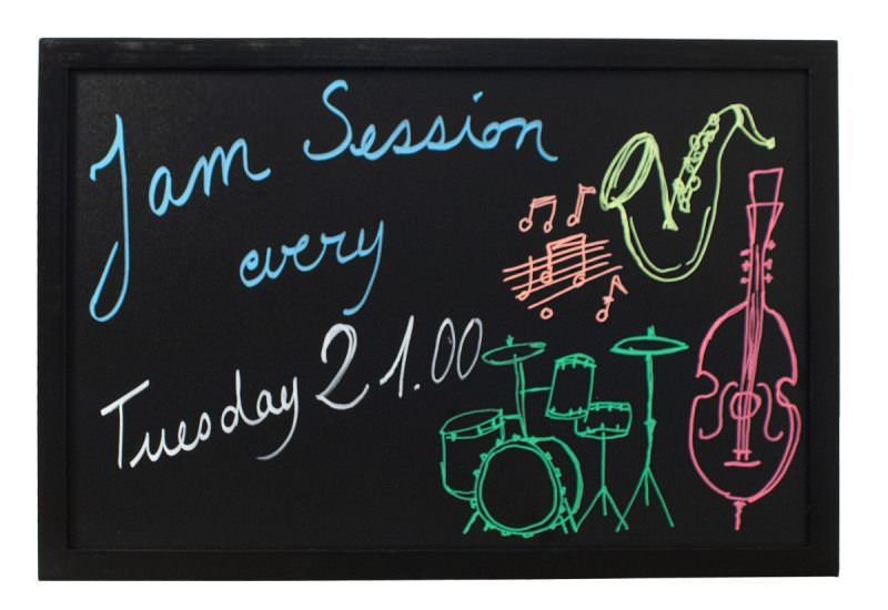 Wall Chalk Board 60 x 80cm, Black