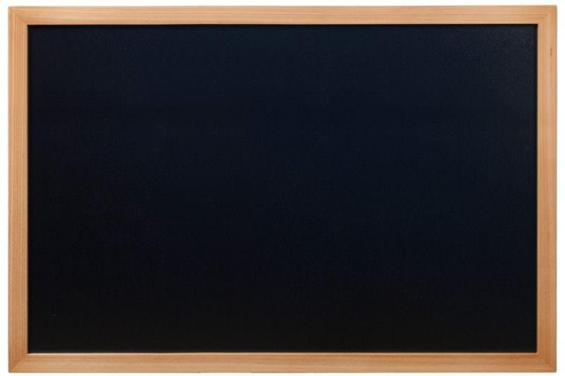 Wall Chalk Board 60 x 80cm Teak