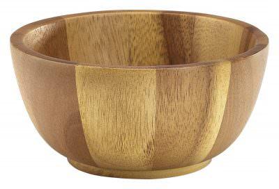 Acacia Wood Bowl 15Dia x 7cm