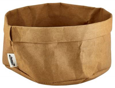 Brown Washable Paper Bag 20Diax14cm(H)