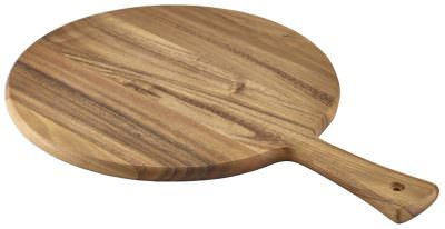 Acacia Wood Pizza Paddle 33cm Dia