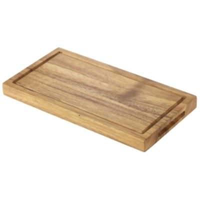Acacia Wood Serving Board 25 x 13 x 2cm
