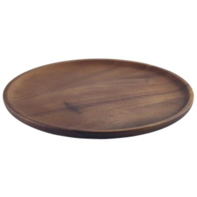 Acacia Wood Serving Plate 26cm