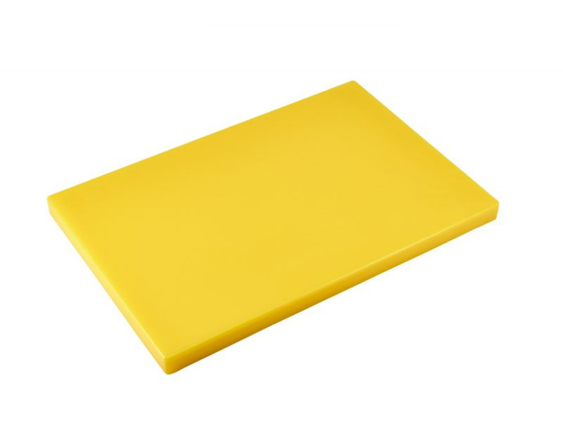 "Yellow 1"" Chopping Board 18 x 12"""