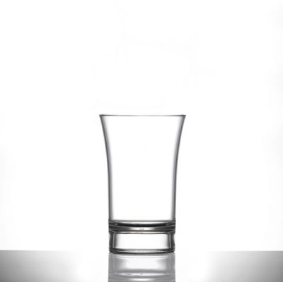 Shot Glass, Econ Clear Polystyrene Plastic 65ml - 84 Pack