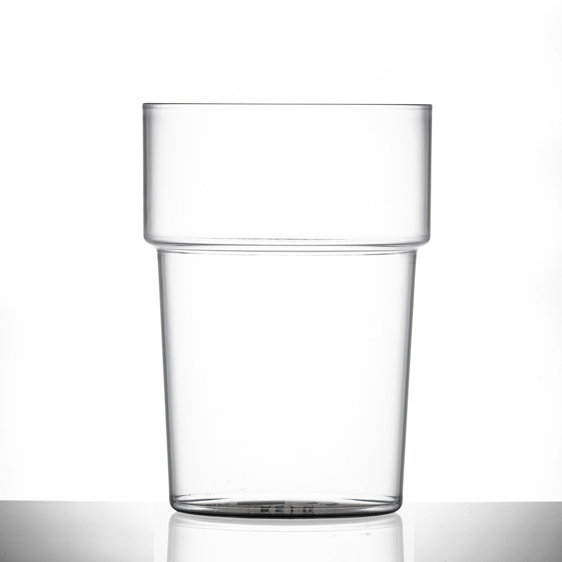 Elite 7.5oz Polycarbonate Tumbler Glasses - 100 Pack