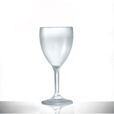 frosted_wine glass