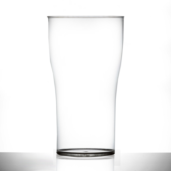 XLarge Elite 2 Pint Tulip Polycarbonate Tumbler Nucleated CE - 18 Pack