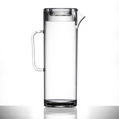 Elite Tall Plastic Jug with Lid, 1.7 litre / 3 Pints