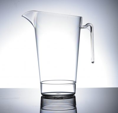 Elite Polycarbonate In2stax 4 Pint / 2.2L Jug, No Lid - CE Marked : Lined @ 4, 3, 2 Pint