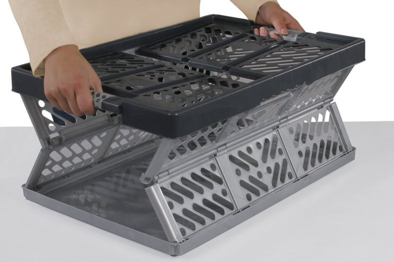 3. Folding Crate - Glassware Box, 15 cells