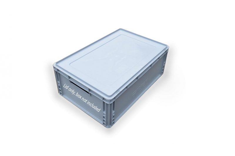 Solid Euro Crate Lid - Fits All Solid Euro Crates