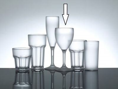 Red Wine Glass Premium Polycarbonate 11oz - 12 Pack