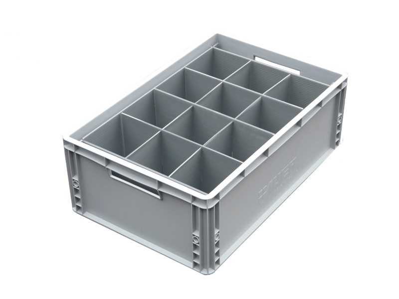 Euro Crate = 12 cells | Glass max height = 150mm | Glass width range = 98mm to 111mm
