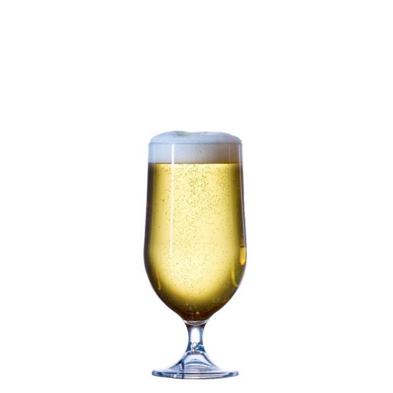 Goblet Plastic Beer 10oz