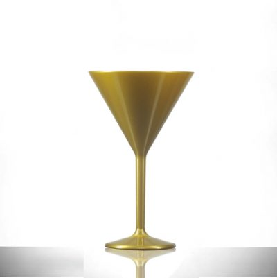 Gold Martini Glasses UK