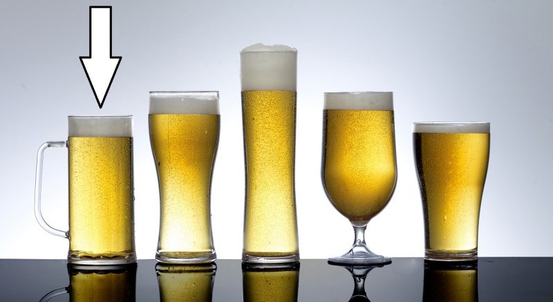 Plastic Beer Pint Glasses