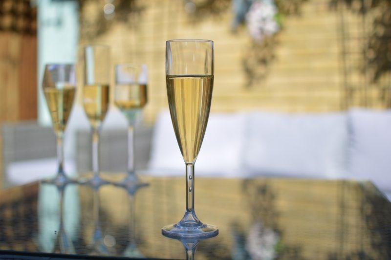 Plastic Reusable Champagne Flutes