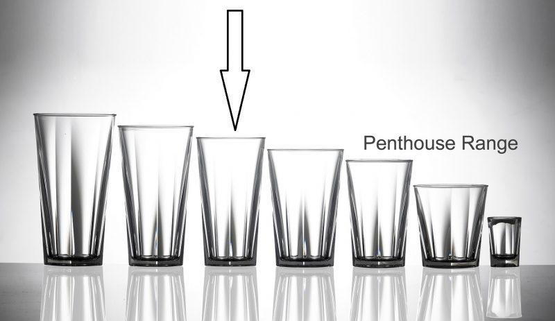 Plastic Glassware - Penthouse Range