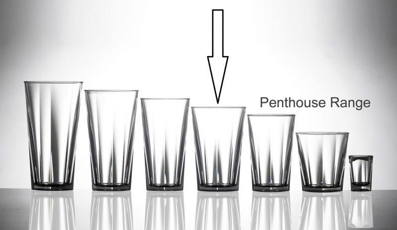 Elite Penthouse Premium Polycarbonate 25ml Shot CE - 24 Pack