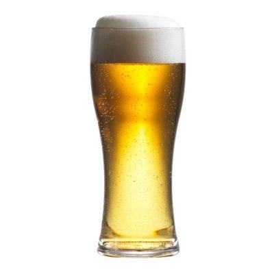 Plastic Pilsner Beer Pint Glass