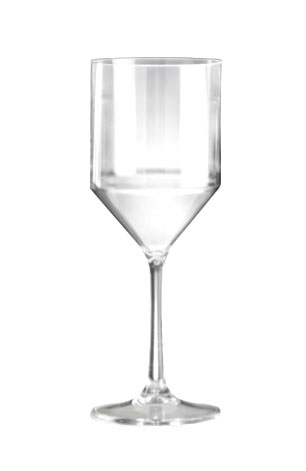 Premium Plastic Wine Glasses