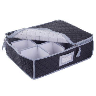 Cup, Mug or Glassware Quilted Storage Case - 12 cells