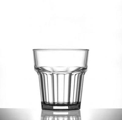 low ball remedy rocks plastic glasses