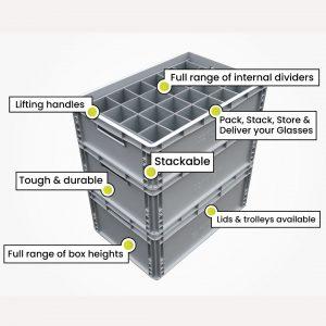 Solid Crate Range - Eurocrates