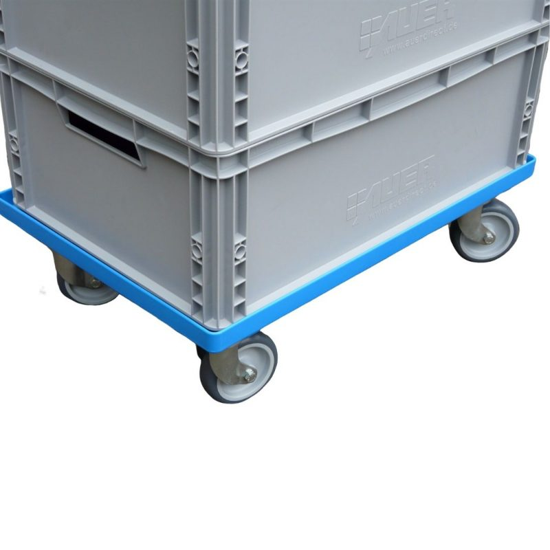 Transport Trolley for Glassjacks Correx Boxes and Solid Euro Crates