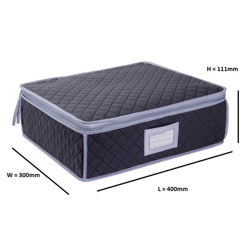SORRY OUT OF STOCK Cup, Mug or Glassware Quilted Storage Case - 12 cells