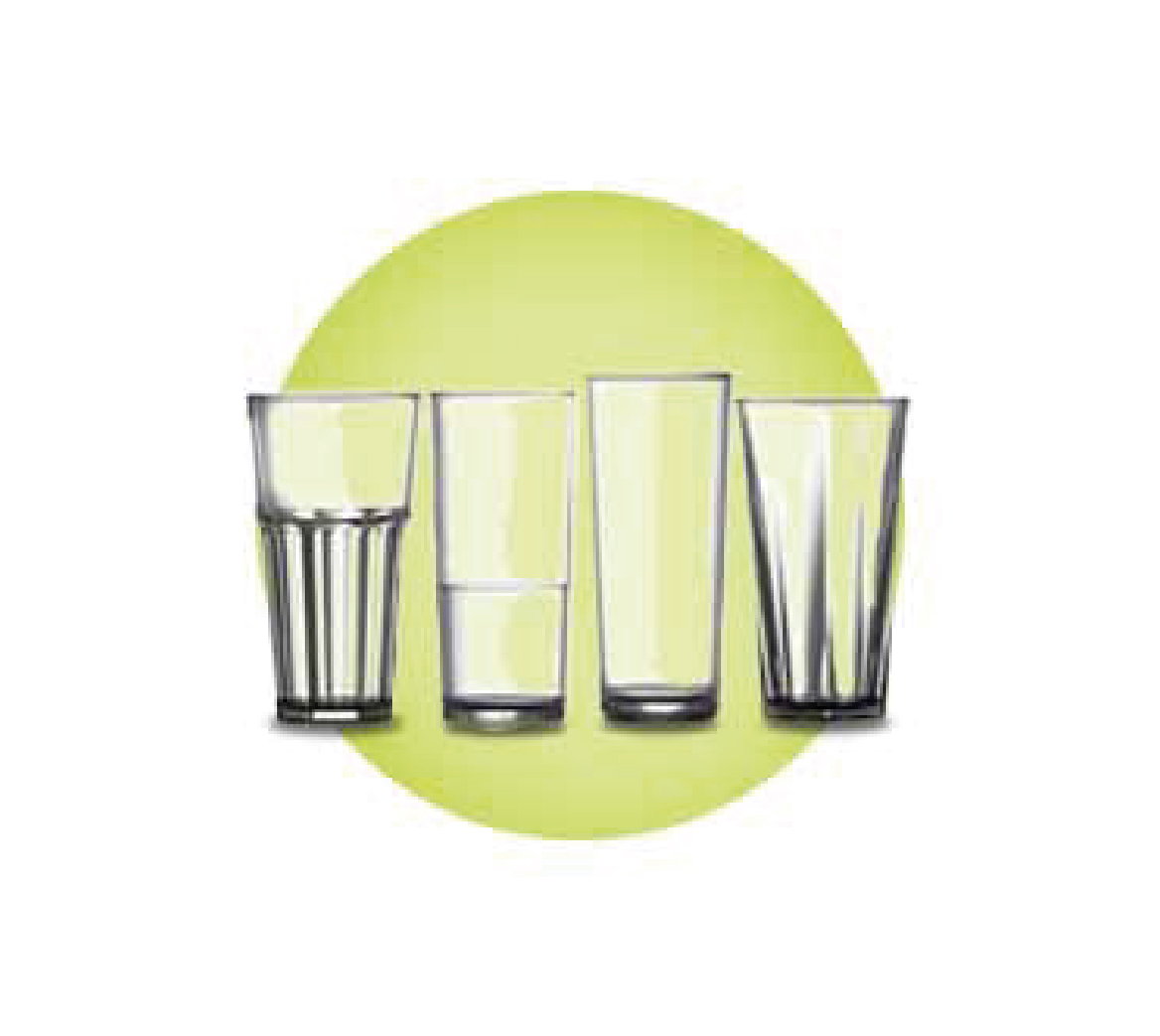 Elite Nucleated Glasses - Polycarbonate