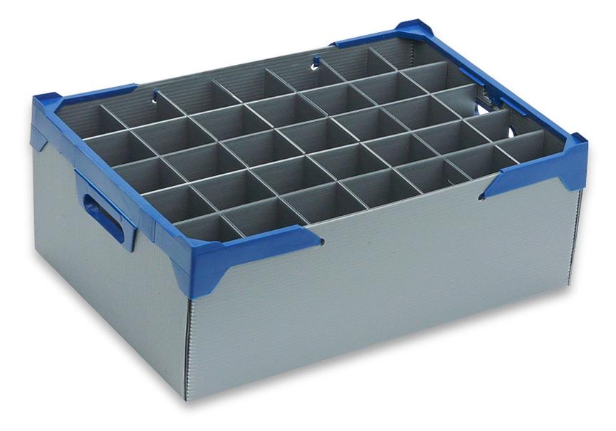 stemware glass box